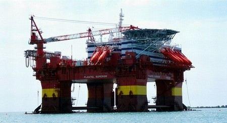 В Норвежском море произошла авария на нефтедобывающей платформе Floatel Superior, которая принадлежит компании Statoil.