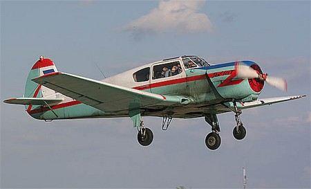 В Рязанской области на аэродроме Пителино разбился спортивный самолет Як-18. Погибли пилот и инструктор.