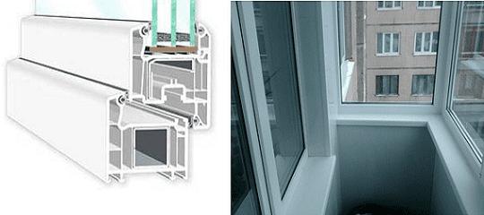 Тёплые окна с ПВХ профилем