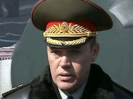 Новым главой Генштаба назначен Валерий Герасимов.