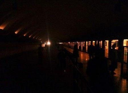В Мюнхене без света осталось сразу несколько районов города.