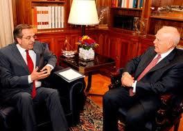 Антонис Самарас - новый премьер-министр Греции.