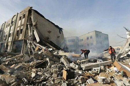 После заключенного перемирия ХАМАС продолжила обстрел Израиля.
