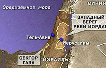 Израильские военные захватили 55 боевиков на ападном берегу реки Иордан.