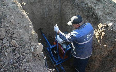 Установка УГБ-2МГ в работе