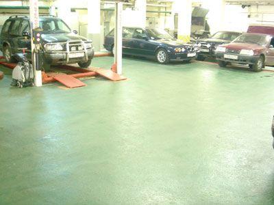 Напольное покрытие для паркингов и гаражей