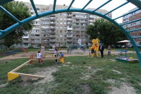 Дворы Новосибирска преображаются