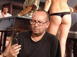 Петр Листерман за работой