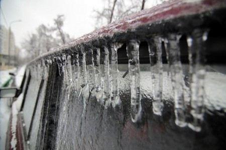 В Москве с четверга по субботу ожидается ледяной дождь.