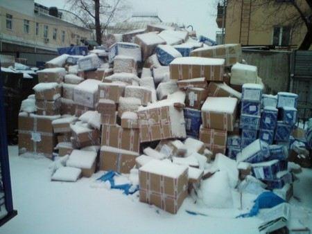 Надеемся, что когда штат «Почты России» будет укомплектован гастарбайтерами, бардака там станет меньше