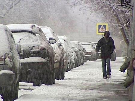 За ночь в Москве выпало 16 см осадков