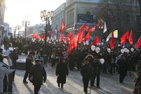 Сергей Удальцов, лидер «Левого фронта» подал заявку на проведение 15 декабря Марша свободы.