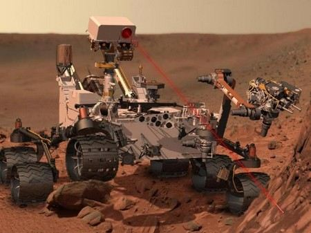 Есть ли жизнь на Марсе, неизвестно до сих пор, но в настоящий момент ученые NASA органики не обнаружили.