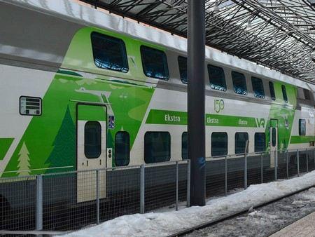 Из Хельсинки в Санкт-Петербург поезда «Аллегро» ходят со сбоем графика.