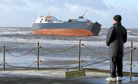 У берегов Турции терпит крушение уже второй российский корабль.
