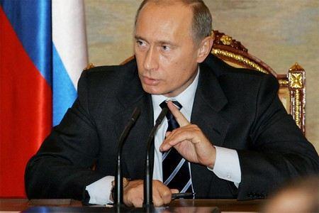 Владимир Путин гласит свое послание Федеральному посланию 12 декабря в Кремле.