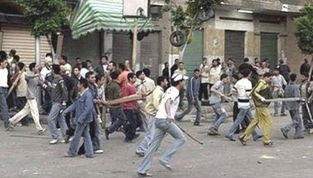 Количество жертв беспорядков в Каире выросло до 5, еще 450 ранены.