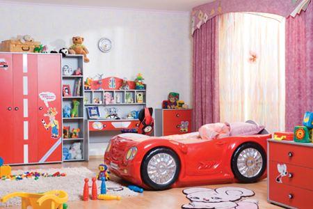 Детские комнаты. Интерьер