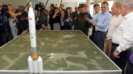 На строительство космодрома будет потрачено ~ 300 млрд рублей