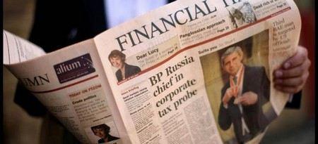 Мэр американского Нью-Йорка хочет приобрести The Financial Times Group.