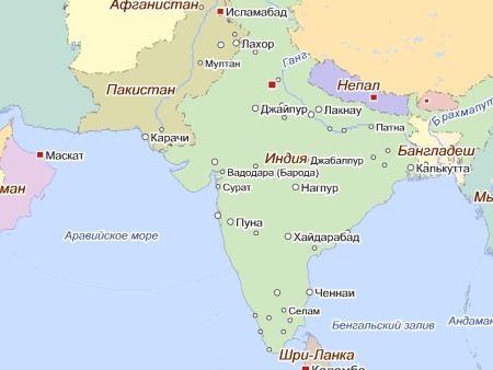 В Индии рухнула строящаяся школа. Погибли четыре человека.