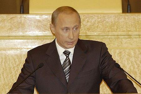Владимир Путин заявил, что криминал в Россию притягивают за уши.