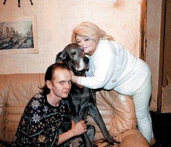 Наталья Кустинская с сыном