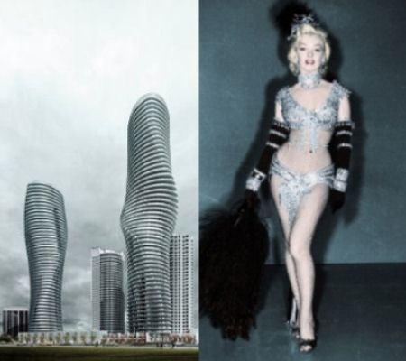 Актриса оценила бы такие небоскребы