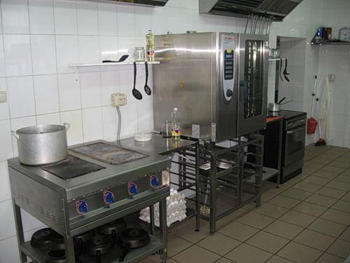 Пароконвектомат на кухне