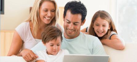 В большой семье компьютер - незаменимая вещь