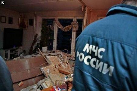 В Дагестане произошел взрыв бытового газа.