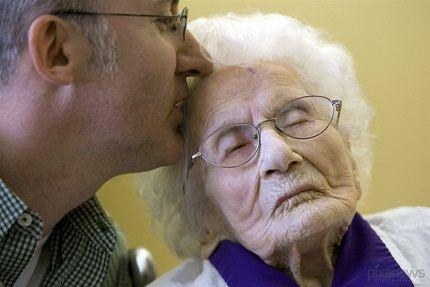 Бабушка-долгожительница