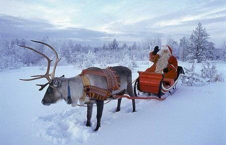 Санта-Клаус вылетел в мировое турне на 2 часа позже.
