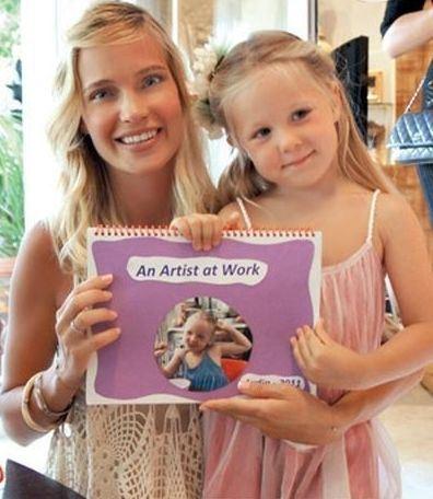 Глюкоза учит английский язык вместе с дочкой Лидой