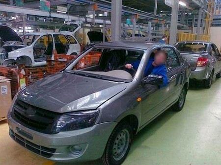 ОАО «АвтоВАЗ» отзывает 45,348 тысяч автомобилей Lada Granta.