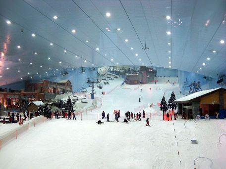 Искусственный горнолыжный комплекс Ski Dubai