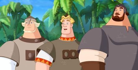 Лидер - мультфильм «Три богатыря на дальних берегах»