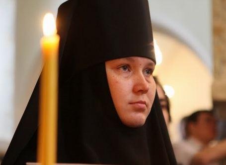 Начальница Марфо-Мариинской обители милосердия инокиня Екатерина