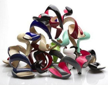 Коллекция обуви от Джулиана Хэйкса
