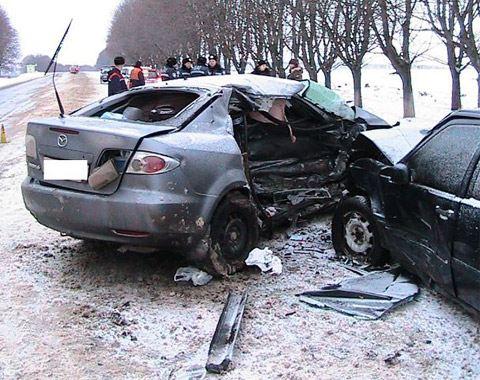 Самым насыщенным авариями на дорогах днём стало первое января