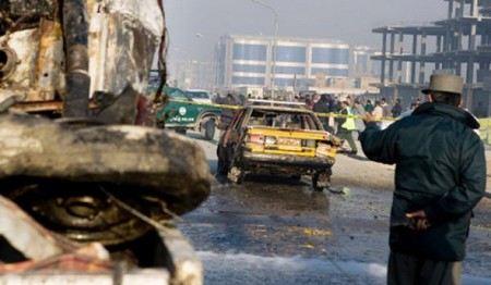 В столице Афганистана прогремел мощный взрыв.