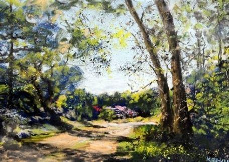 Киерон Уильямсон известен и как пейзажист