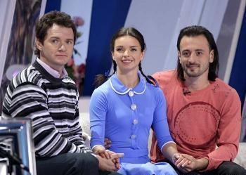 «Ледниковый период»: Алексей Тихонов, Алиса Гребенщикова и Илья Авербух