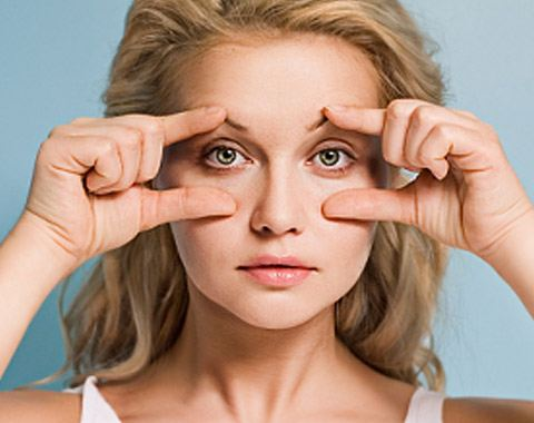 Eyelid surgery helps to get rid of bags under the eyes and hanging eyelids.