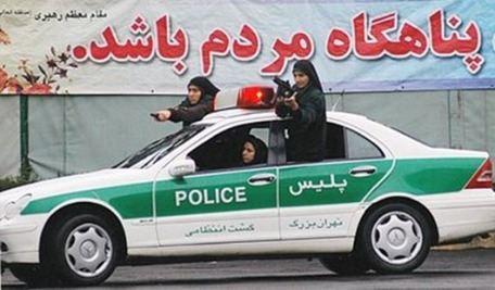Женщины-ниндзя состоят на службе в полиции Ирана