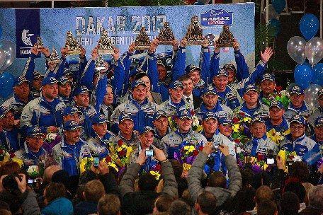 Победители ралли Дакар-2013 - команда из Набережных Челнов