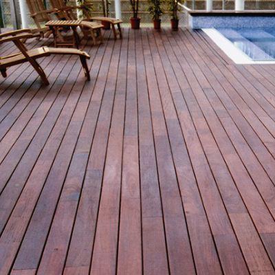 Деревянное покрытие для открытой террасы