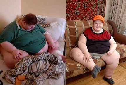 Саша смог похудеть