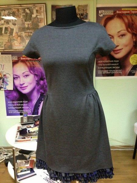 как нарисовать одежду платья