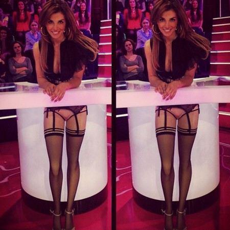 Анна Седокова появилась на публике без штанов.